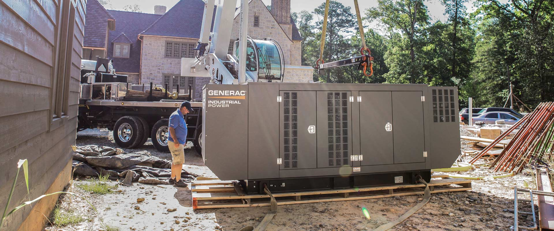 house generator installation
